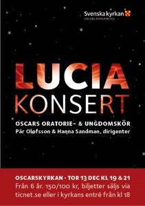 Luciakonsert 2012 - facebook